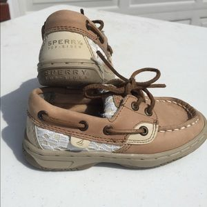 Girls sperry's shoes